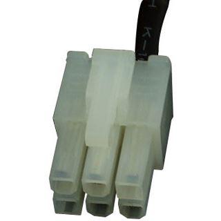 Phobya PCI-E Stromadapter 6pin -> 8pin PCI-E (oder 6pin + 2) 30cm