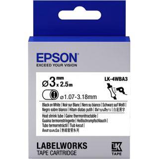 Epson Tape LK4WBA3 HST BLK/