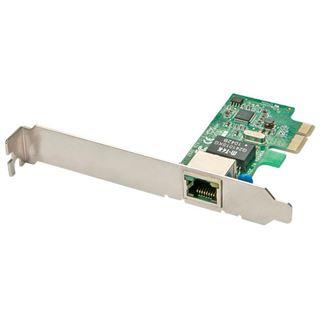 Lindy Gigabit Netzwerkkarte, PCIe 10/100/1000Base-T