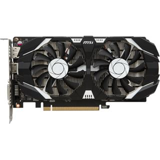 4GB MSI GeForce GTX 1050 Ti 4GT OC Aktiv PCIe 3.0 x16 (Retail)