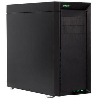 Nanoxia CoolForce 1 schallgedämmt Midi Tower ohne Netzteil