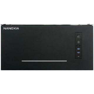 Nanoxia Project S mit Sichtfenster Midi Tower ohne Netzteil schwarz