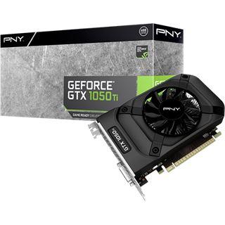 4GB PNY GeForce GTX 1050 Ti Aktiv PCIe 3.0 x16 (Retail)