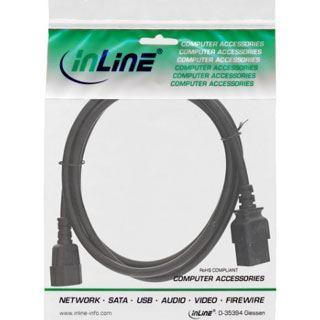 (€3,97*/1m) 3.00m InLine Stromadapterkabel C14 Buchse auf C19
