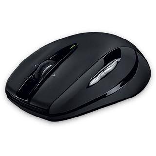 Logitech M545 USB schwarz (kabellos)