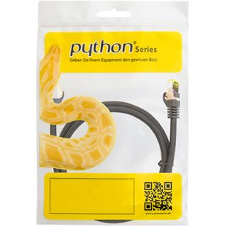 (€3,27*/1m) 1.50m PYTHON Cat. 7 Rohkabel Patchkabel S/FTP PiMF