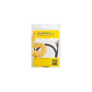 (€1,45*/1m) 7.50m PYTHON Cat. 7 Rohkabel Patchkabel S/FTP PiMF