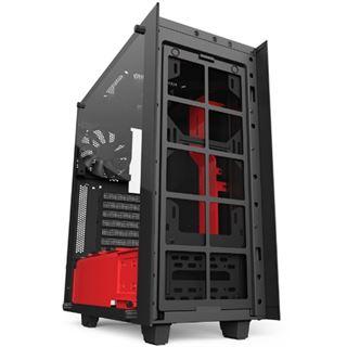 NZXT Source S340 Elite mit Sichtfenster Midi Tower ohne Netzteil