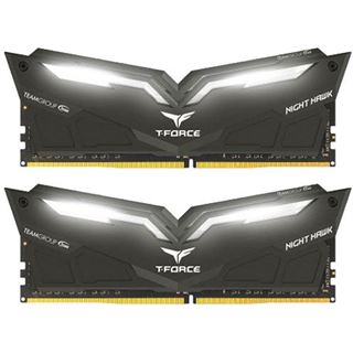 16GB TeamGroup T-Force Nighthawk weiß DDR4-2666 DIMM CL15 Dual