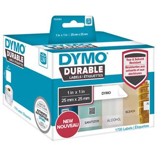 Dymo LabelWriter-Etiketten High Performance, 25 x 25 mm