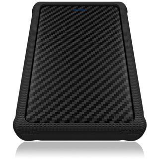 """ICY BOX IB-223U2a-B 2.5"""" (6,35cm) USB 2.0 schwarz"""