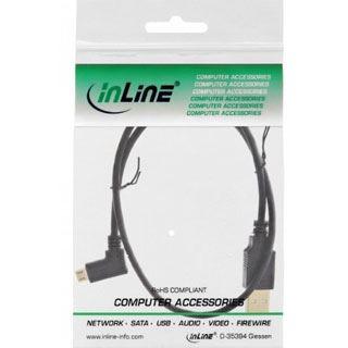 (€9,80*/1m) 0.50m InLine USB2.0 Adapterkabel USB A Stecker auf