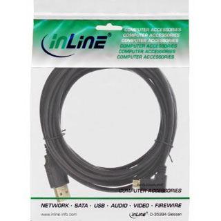 (€2,45*/1m) 2.00m InLine USB2.0 Adapterkabel USB A Stecker auf