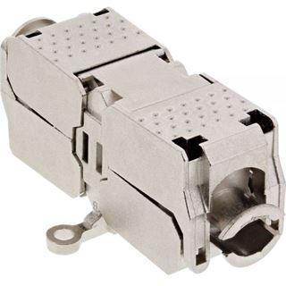 InLine Verbindungsmodul Cat.6A, mit LSA-Technik, geschirmt bis 600MHz