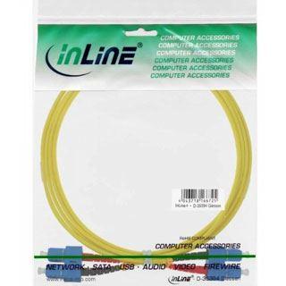 (€9,90*/1m) 1.00m InLine LWL Duplex LWL Anschlusskabel 9/125