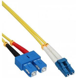 (€0,52*/1m) 25.00m InLine LWL Duplex LWL Anschlusskabel 9/125