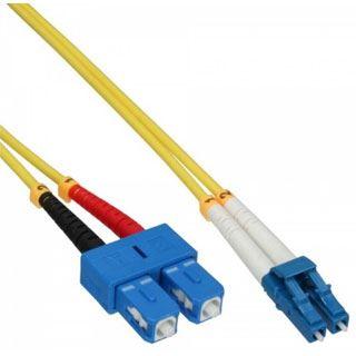 (€8,90*/1m) 1.00m InLine LWL Duplex LWL Anschlusskabel 9/125