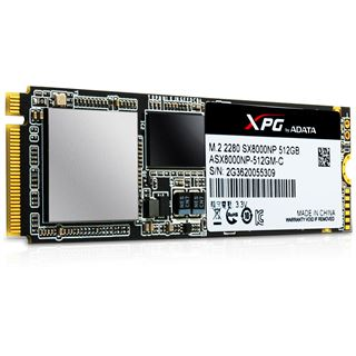 256GB ADATA XPG SX8000 M.2 2280 PCIe 3.0 x4 32Gb/s 3D-NAND MLC Toggle