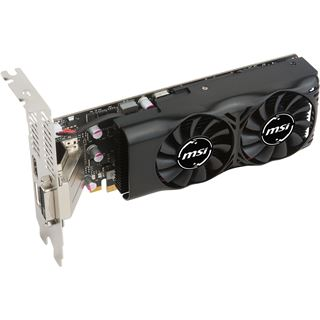 4GB MSI GeForce GTX 1050 Ti 4GT LP Aktiv PCIe 3.0 x16 (Retail)