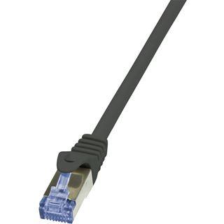 (€0,46*/1m) 50.00m LogiLink Cat. 6a Patchkabel S/FTP PiMF RJ45