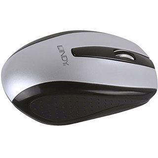 Lindy 20587 USB schwarz/grau (kabellos)