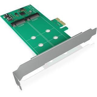 ICY BOX IB-PCI210 2x M.2 SATA SSD auf PCIe 2.0 x1