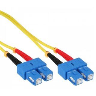 (€19,80*/1m) 0.50m InLine LWL Duplex LWL Anschlusskabel 9/125
