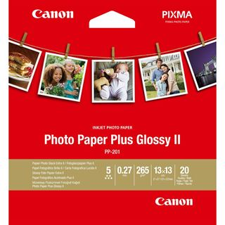 Canon PHOTO PAPER PLUS GLOSSY PP-201 13x13CM 20BL. #2311B060,