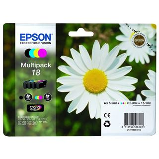 Epson Tinte 18 C13T18064022 cyan, magenta, gelb