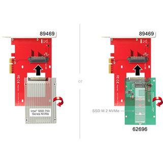 Delock PCIe x4 > U.2 Slot NVMe