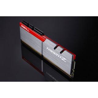 16GB G.Skill Trident Z silber/rot DDR4-3866 DIMM CL18 Dual Kit