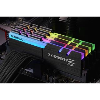 32GB G.Skill Trident Z RGB DDR4-2400 DIMM CL15 Quad Kit