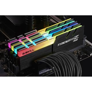 32GB G.Skill Trident Z RGB DDR4-3000 DIMM CL15 Quad Kit