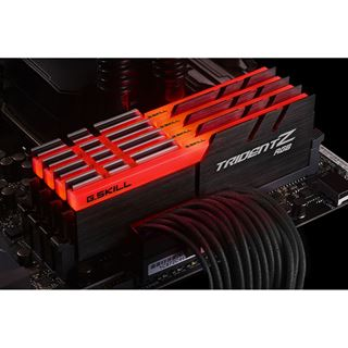 32GB G.Skill Trident Z RGB DDR4-3200 DIMM CL14 Quad Kit