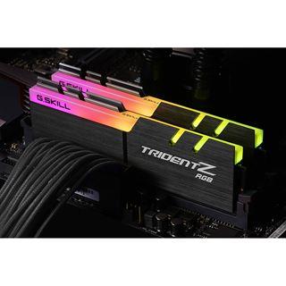 16GB G.Skill Trident Z RGB DDR4-3600 DIMM CL17 Dual Kit