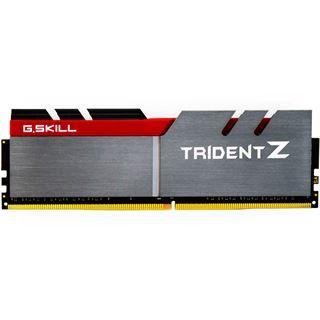 16GB G.Skill Trident Z silber/rot DDR4-4000 DIMM CL18 Dual Kit