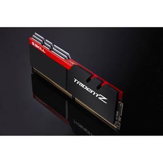 32GB G.Skill Trident Z silber/rot DDR4-4000 DIMM CL18 Quad Kit
