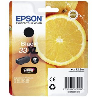 Epson Singlepack 33XL schwarz
