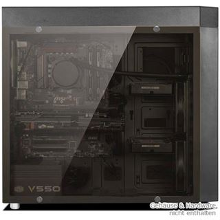 Nanoxia CoolForce 1 Tempered Glass Seitenteil