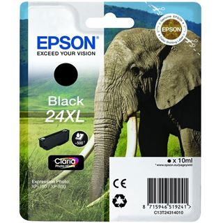 Epson Tinte 24 XL C13T24314022 schwarz
