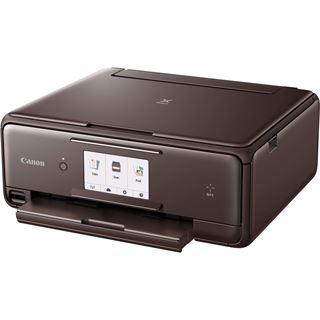 Canon PIXMA TS8053 (1369C066) braun Tinte Drucken / Scannen /
