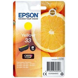 Epson Tinte 33 C13T33444012 gelb