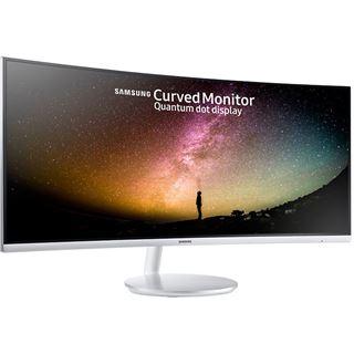 "34"" (86,36cm) Samsung C34F791WQU Weiß 3440x1440"