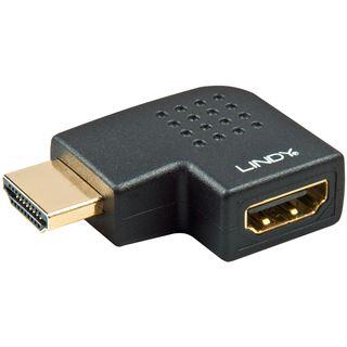 Lindy HDMI Adapter HDMI-Stecker auf HDMI-Buchse Schwarz 4K /