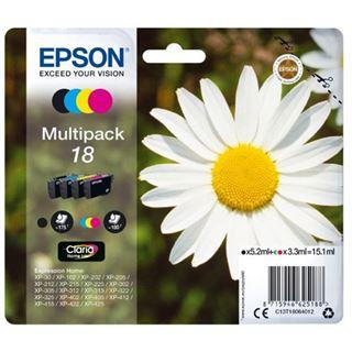 Epson Tinte Multipack C13T18064012 cyan, magenta, gelb