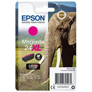 Epson Tinte 24 xl C13T24334012 magenta