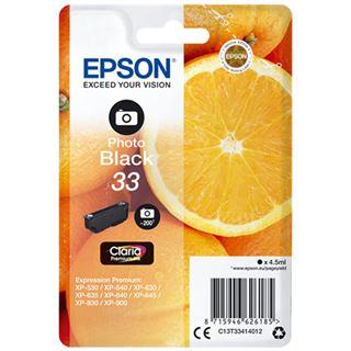 Epson Singlepack Photo Black 33 Claria Premium