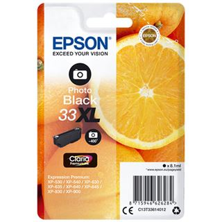 Epson Singlepack Photo 33XL Schwarz