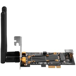 Silverstone SST-ECWA2-LITE Mini-PCIe ui PCIe-1x Adapterkarte