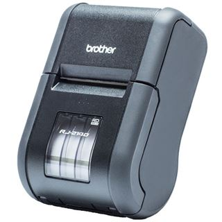 Brother RJ-2140 mobiler Beleg- und Etikettendrucker (Thermodirekt,